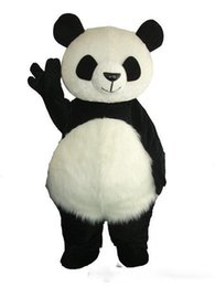 Chinese  High Quality Cute Panda Bear Mascot Costume Fancy Party Dress Free Shipping manufacturers