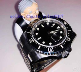 Best automatic dive watches online shopping - box Men s Luxury Products Best Quality Ceramic Black Dial Glidelock Clasp Dive Basel Sea mm Asia Mechanical sapphire Watch