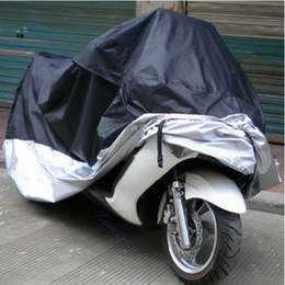 $enCountryForm.capitalKeyWord Australia - Big Size 245*105*125cm Motorcycle Covering Waterproof Dustproof Scooter Cover UV resistant Heavy Racing Bike Cover wholesale