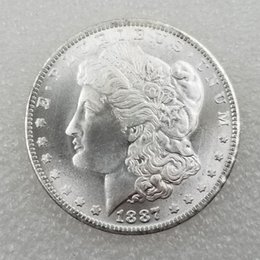 Free Coin Pricing Australia - US Coins morgan dollar 1887-s Promotion Cheap Factory Price nice home Accessories Silver Coins 10 pcs Free shipping
