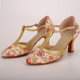 $enCountryForm.capitalKeyWord Australia - Dress Shoes Women's Sandals Spring Summer Ladies Dancing Rumba Waltz Prom Ballroom Latin Salsa Dance Fashion Sandalias High Heel Hot
