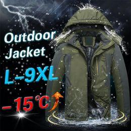 $enCountryForm.capitalKeyWord Australia - Winter Jackets Mens Hooded Warm Fleece Thicken Jacket Men Windbreaker Waterproof Outdoor Coat Male Clothing Plus Size M- 9XL