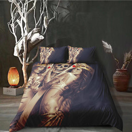 $enCountryForm.capitalKeyWord Australia - Thumbedding Dropship Unique Designed Sexy Love Skulll Bedding Sets 3D Duvet Cover Set Twin Full Queen king Size Colorful Bed Set