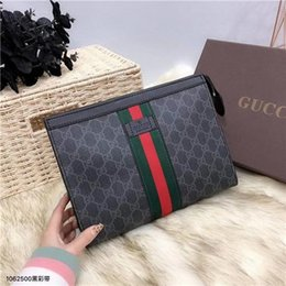 Ostrich Leather Clutch Bag Australia - With Box Luxury designer handbags brand clutches Real leather Women's fashion Clutch Bags es with