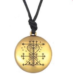 $enCountryForm.capitalKeyWord Australia - Voodoo Loa Veve Pendant Money Wealth Amulet Vintage Religion Spirit Signs Necklace