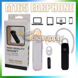 $enCountryForm.capitalKeyWord Australia - M165 Wireless Stereo Bluetooth Headset Earphone Mini Wireless Bluetooth Handfree Single Ear Universal Headphones for All Phone