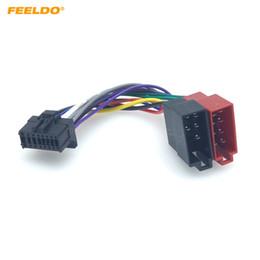 $enCountryForm.capitalKeyWord Australia - FEELDO Car Stereo Audio Conversion Plug Wire Adapter For Pionner To Peugeot CD Radio Wiring Harness Original Head Units Cable #6004