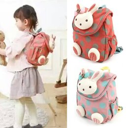 $enCountryForm.capitalKeyWord Australia - 3D Cute Rabbit Toddler Kids Backpack Animal Cartoon Lunch Boxes Carry Bag Pre School Elementary Schoolbag(Light Pink)
