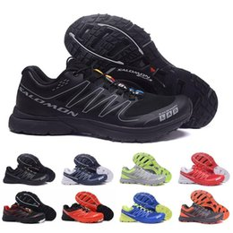 S lab online shopping - 2018 Solomon S Lab Sense M Discount Sneakers Best Quality Mens Shoes Hot Sale Fashion Athletic Running Sports Outdoor Hiking Shoes