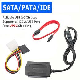"$enCountryForm.capitalKeyWord Australia - EastVita hot sale SATA PATA IDE to USB 2.0 Adapter Converter Cable for Hard Drive Disk 2.5"" 3.5"""