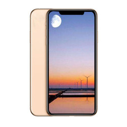 Mp3 Micro online shopping - Dual SIM inch Goophone XS MAX Quad Core MTK6580 Face ID Smartphones G G Show Fake G G G lte Unlocked Phone