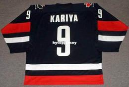$enCountryForm.capitalKeyWord Australia - Cheap customize PAUL KARIYA 2002 Team Canada Retro Olympic Alternate Top Hockey Jersey Mens Stitched Personalized Jerseys