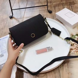 bac68fdf95 2019 new fashion hot women double T personality bags Famous Designers Brand  T Chain leather handbag flap crossbody shoulder bag