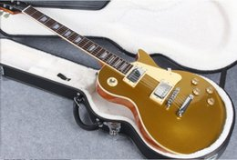 Luxury guitars online shopping - Tribute Luxury Gold top style tuners forestwind electric guitar