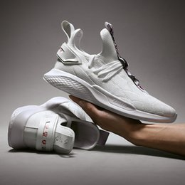 pen clay Australia - 2019 Spring In The Tide Male good. Leisure Time Sneakers Be Adept With Both The Pen And The Sword Beautiful White Fly Fabric Run Shoe Male