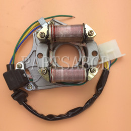 chinese engine parts NZ - Magneto Stator 50cc 70cc 90cc 110cc Chinese Engine Parts ATV Bike Go Kart