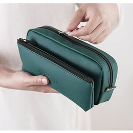 Green Cosmetic Bag Wholesale Australia - Portable Professional Make Up Bag Women Cosmetic Cluths Waterproof Makeup Pouch Brush Case Travel Organizer Make Up Toiletry Kit