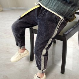 $enCountryForm.capitalKeyWord NZ - Boys Pants 2019 New Spring Kids Clothing Big Boys Jeans Cotton Trousers Baby Children Roupas Infantis Menina Pencil Leggings Y19051504