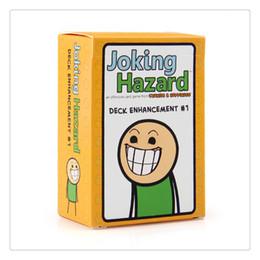 $enCountryForm.capitalKeyWord Australia - Joking Hazard playing card Joking Hazard deck Enhancement kids cartoon poker card board game party family gaming set with enlarged box