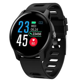 Orologio intelligente da uomo S08 SENBONO IP68 Fitness Tracker Monitor della frequenza cardiaca Contapassi Smartwatch impermeabile per telefono Android IOS Rosa in Offerta