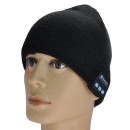 Skull bluetooth Speaker online shopping - Warm Beanie Hat Wireless Bluetooth Music Smart Cap Headphone Headset Speaker Bluetooth Hat
