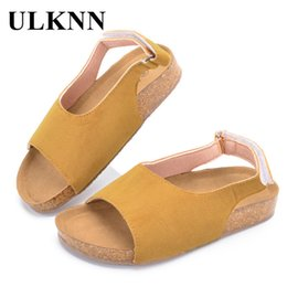 $enCountryForm.capitalKeyWord Australia - Ulknn Summer Beach Kids Boys For Girls Children Sandals Open-toe Breathable Casual Shoes Toddler Baby School Shoe Q190601
