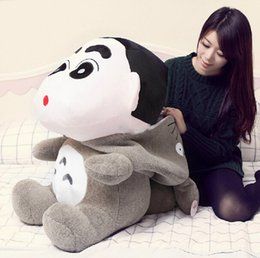 $enCountryForm.capitalKeyWord NZ - 31''   78cm Funny Stuffed Soft Cartoon Plush Giant Anime Totoro Crayon Shin-chan Toy Nice Gift For Babies Free Shipping
