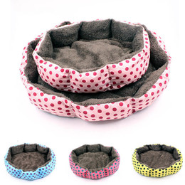 small house puppies Australia - Soft Pet Dog House For Cats Beds Warm Dog Bed Winter Puppy Bed Dogs House For Small Medium Dogs Pet Products Chihuahua York Pug