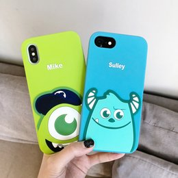 Cute 3d Animal Iphone Cases Australia - UPS Free Shipping 3D Cute Cartoon Animals Case For iPhone 8 Plus 7 6 XS Max XR Soft Silicone Rubber Shockproof protective Phone Case