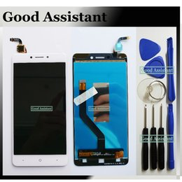China Black Mobile NZ - High Quality Black White 5.2 inch For China Mobile A3S M653 Full LCD DIsplay + Touch Screen Digitizer Assembly Free Tools