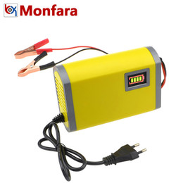 $enCountryForm.capitalKeyWord Australia - Universal Lead Acid AGM GEL Car Motorcycle Battery Charger 12V 6A Intelligent Pulse Repair LED Capacity Display 12 V Smart Fast