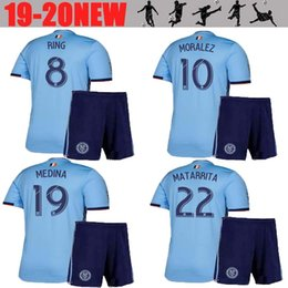 781fc1490 Thai quality 2019 New York City soccer jersey Adult kit 19 20 MLS LAMPARD 8  PIRLO 21 MCNAMARA MORALEZ DAVID VILLA 7 football sets free ship