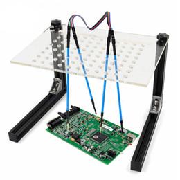 Quadro do diodo emissor de luz BDM com suporte de sintonia da placa de ferramenta da microplaqueta das penas da malha 4 ECU para o programador da ECU venda por atacado