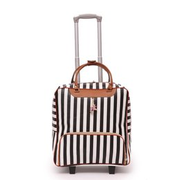 Carry bag wheels online shopping - New Women Travel Luggage Suitcase Bag High Quality Rolling Trolley Case Leather Carry Ons Men Baggage Wheels Dragboxes