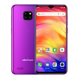 "$enCountryForm.capitalKeyWord Australia - Cheap 3G WCDMA uleFone Note 7 Face ID Quad Core MTK6580 1GB 16GB Android 9.0 6.1"" Waterdrop Full Screen GPS 8MP 4 Cameras 3500mAh Smartphone"