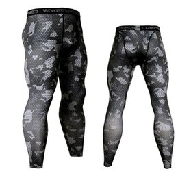 c74daa2958af Camouflage Compression Sportswear Running Tights Men Soccer Training  Jogging Pants Men Fitness Sport Leggings Gym Trousers Male