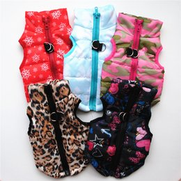 $enCountryForm.capitalKeyWord Australia - Pet Clothes Puppy Outfit Vest Warm Dog Clothes For Small Dogs Winter Windproof Pets Dog Jacket Coat Padded Chihuahua Apparel