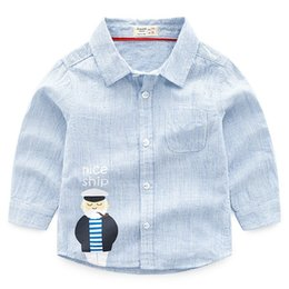 $enCountryForm.capitalKeyWord Canada - Autumn Korean Version Of The Boutique Childrens Printing Grandfather Cotton Long-sleeved Shirt Boy Shirt