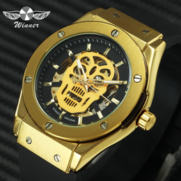 $enCountryForm.capitalKeyWord Australia - Winner Fashion Sports Auto Mechanical Skull Mens Watches Top Brand Luxury Golden Skeleton Dial Rubber Strap Wristwatch For Man Y19051302