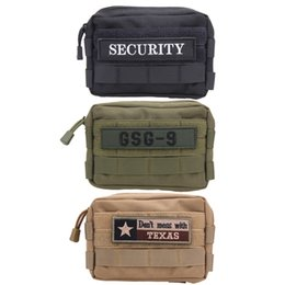 High Quality Nylon Tactical Military Small Utility Pouch Nylon Bag Waterproof Mini Bagged Gear Tools Pouch Kit Accessories Bag Camping & Hiking