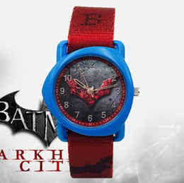$enCountryForm.capitalKeyWord Australia - Batman Children Fashion Watches Men Quartz Wristwatches Waterproof Leather Kids Clock boys girls Students Batman Animal watch