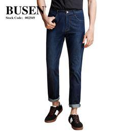 Designer Pant Trousers Australia - Summer New Men's Thin Light Jeans Casual Designer Mens Loose Denim Jeans Dark Blue Trousers Male Brand Pants