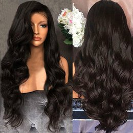 women human hair wig Canada - Trendy Queen Bridal Wedding Women Curly Hair Wig Fashion Headwear Remy Human Hair Body Wave Lace Front Human Hair Wigs