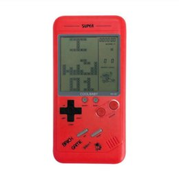 Wholesale Handheld Console Mini Game Machine Classical Tetris Brick Game Players Childhood Reminiscence Mini Toys Best Gift For Children