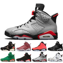 Table Cat Box Australia - 2019 Bred 6 6s Mens Basketball Shoes Infrared 23 3M Reflective Bugs Bunny Tinker Black Cat Men Sports Sneakers Designer Trainers Size 40-47