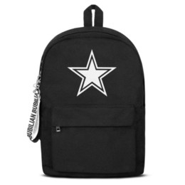 $enCountryForm.capitalKeyWord UK - Dallas Cowboys white logo Free Shipping Women Men Canvas School Student Lightweight Travel Backpack Printing Backpack Desi