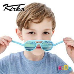 polarized sun glasses kids Canada - Flexible Polarized Kids Sunglasses Child Blue Sun Glasses For 7-12 Years Baby Boys Eyeglasses TR90 UV400 Eyewear Children Glass