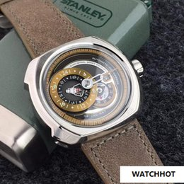 jh watches 2019 - Fashion Mechanical Automatic Watch For Men Top Quality 47MM Friday Q2 01 Sport Wristwatches Mens JH 82s7 Movement Watche