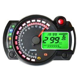 LOONFUNG LF220 Motorcycle LCD Instrument Assembly Code Table Tachometer 7 Color LCD Screen on Sale