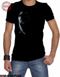 $enCountryForm.capitalKeyWord Australia - Custom Short Sleeve Print T Shirts Men Night King T-Shirt Cotton White Walker New 100% Cotton Brand Tee Shirts